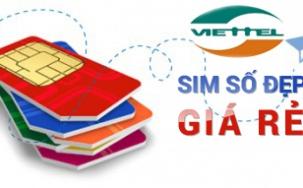 Sim Viettel - Sim Số Đẹp Viettel 10 Số Giá Rẻ