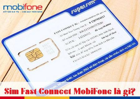 Nhiều ưu đãi hấp dẫn khi đăng ký sử dụng sim 3G Mobifone Fast Connect