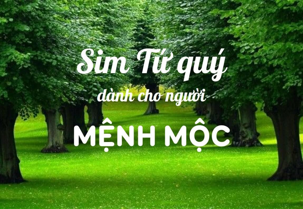 Sim Tu Quy Hop Menh Moc