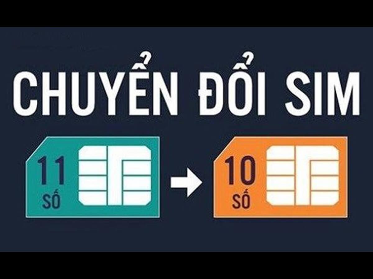 Chuyen Doi Sim Tu 11 So Sang 10 So
