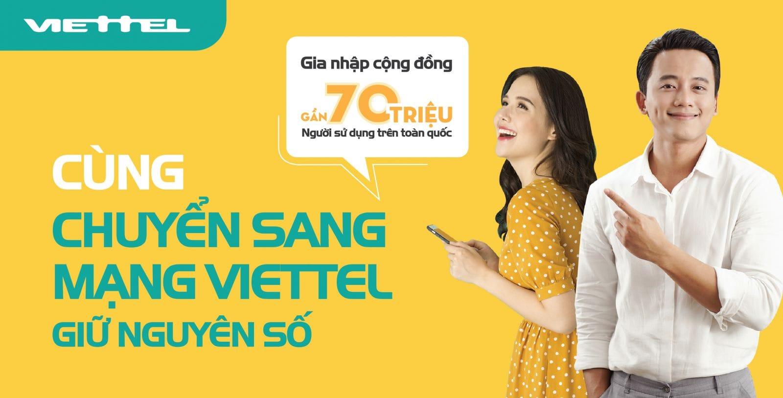 Doi Dau So 0167 Nha Mang Viettel Tien Lien Lac