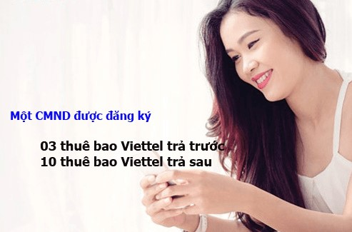 Mot Cmnd Dang Ky Bao Nhieu Sim Viettel Chinh Chu
