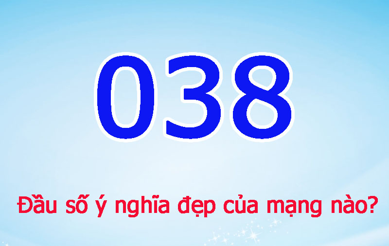 Dau So 038 La Mang Gi