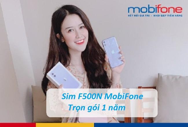 Bạn biết gì về gói sim 3G Mobi 1 năm F500N?