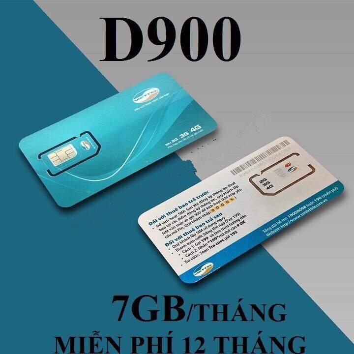 Tang 7gb Sim Viettel D900
