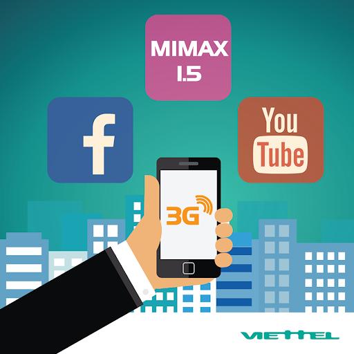 Gói cước 3G Viettel giúp bạn thỏa sức kết nối tìm kiếm tài liệu chỉ với cú pháp đăng ký đơn giản