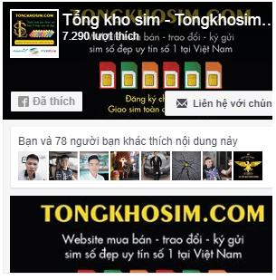Fanpage Tổng Kho Sim