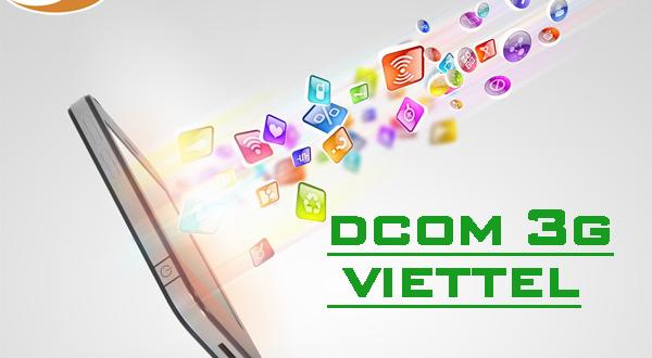 Bạn có thể kiểm tra gói cước Dcom 3G Viettel theo cách nào?