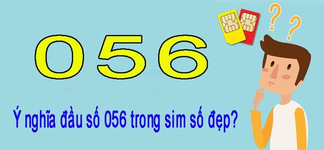 Dau So 056 Co Y Nghia Gi