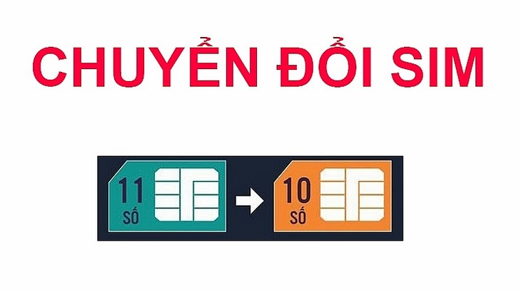 Cac Thue Bao Bat Buoc Chuyen Doi Sim Tu 11 So Sang 10 So