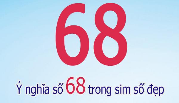 Sim lộc phát 6868 là dòng sim số rất phù hợp với những người kinh doanh